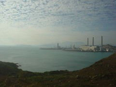 49.遠眺南丫島的發電廠