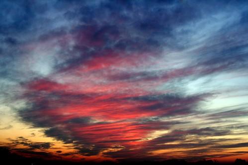 Gökyüzünün renk manzarası