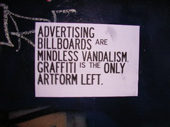 Advertising? photo by badjonni