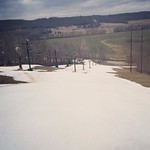 We are open today Noon-9pm. Slopes are groomed! Conditions are semi-packed wet granular which means you should pick up some speed. High is 37 degrees so it won