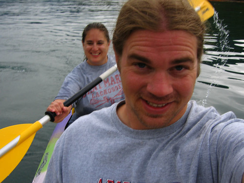 Michelle and Ed on Kayak
