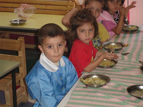 Enfants de maternelle roumain