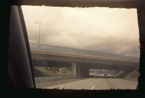 Postcard View of the De Anza Overpass (?)