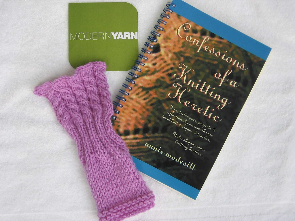 Class swatch and book