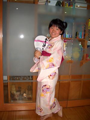 Little Sister in a Kimono