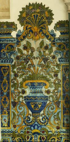 Lisboa - azulejos, Mercado da Ribeira