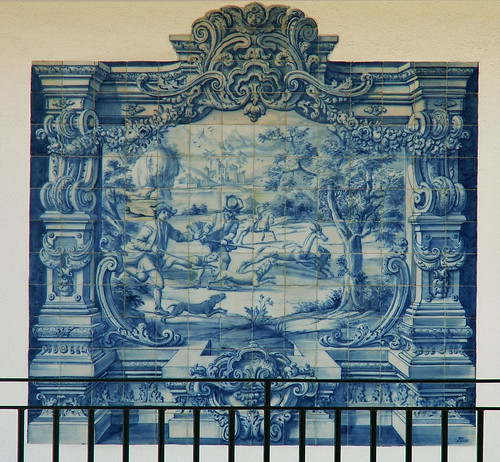 Lisboa - azulejos, Restelo