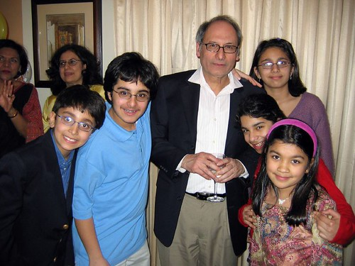 Vipin Bery, his children, nieces and nephews