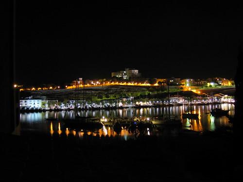 Port de Maó de nit
