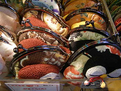 Decorative Purses in Nishiki Market