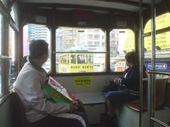 22.從電車眺望前方