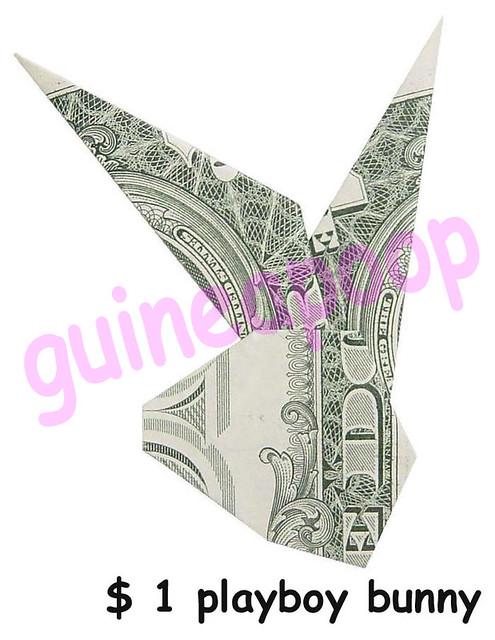 BUNNY MONEY ORIGAMI