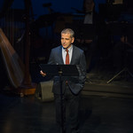 David Cromer speaks at Writers Theatre's Grand Opening Gala on February 8, 2016. Photo by Michael Brosilow.