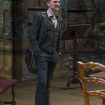 Scott Parkinson (Bernard Nightingale) in ARCADIA at Writers Theatre. Photo by Michael Brosilow.