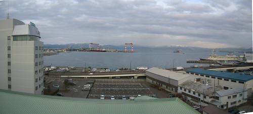 函館國際飯店view