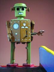 Robot Visitor photo by EltonHarding