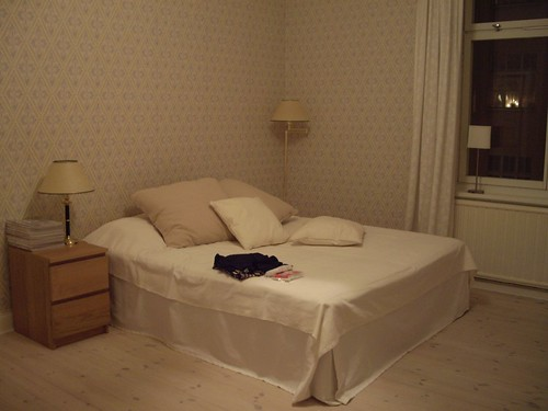 My apartment in stockholm - bedroom