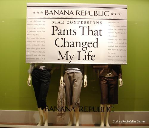 Banana Republic的廣告