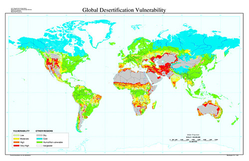 Global Desertification Vulnerability
