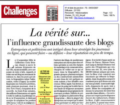 challenge - TechCrunch 3rd blog most influential in France