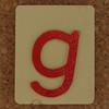 SPELL MASTER letter g
