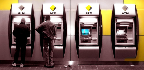ATMs in Melbourne: Sepia & Color