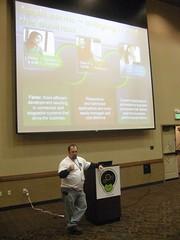 Josh Holmes presenting on SOA