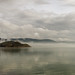 Trasimeno with autumnal fog