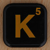 WORDS with FRIENDS RACE letter K