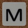 MINI MIND MOVER-3 letter M