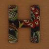 Cooper Hewitt magnetic letter H