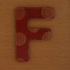 Cooper Hewitt magnetic letter F