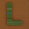 Cooper Hewitt magnetic letter L