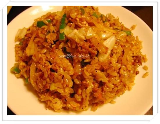 三味食堂-青椒牛肉炒飯