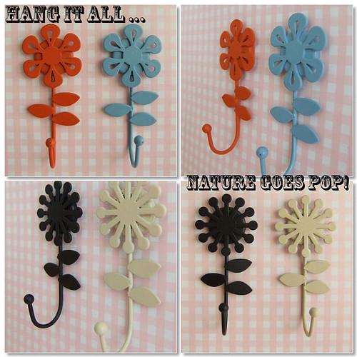Decole - Enamel flowers