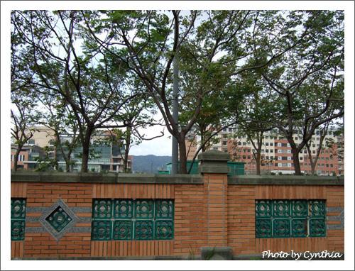 台北大學圍牆