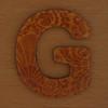 Cooper Hewitt magnetic letter G