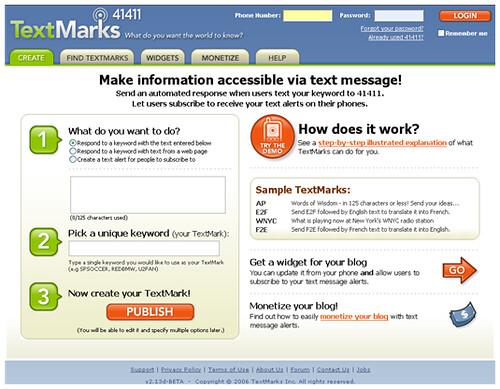 TextMarks