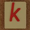 SPELL MASTER letter k