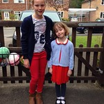 Red white and blue for queens 90th mufty<br/>21 Apr 2016
