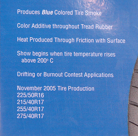 Kumho  colored smoke tire product description - Drift Japan Blog