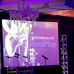 Writers Theatre's WordPlay Gala 2016 at the Four Seasons Hotel Chicago featured classic rock-themed décor and entertainment. Photo by Abby McKenna.