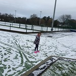 just enough snow for a snowball<br/>17 Jan 2016