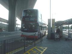 08.赤臘角機場的巴士站