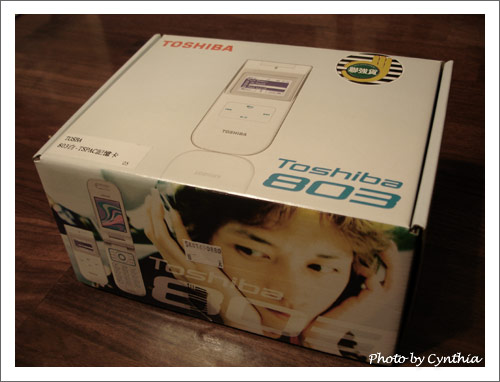 勸敗魔人的新手機Toshiba 803