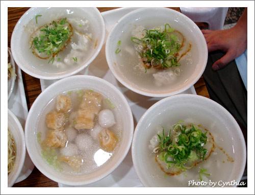 魚丸湯、白北魚羹