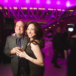 Director Gary Griffin and Actor Heidi Kettenring at the Grand Opening Gala for the new Writers Theatre, Feb 8, 2016.  Photo by Joe Mazza - brave lux.