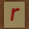SPELL MASTER letter r