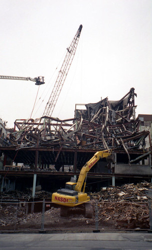 candy factory demolished