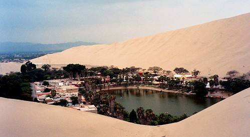 Huacachina courtesy of Trapac (Flickr)